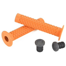 CULT Vans Waffle BMX Grips with Flange by ODI, orange